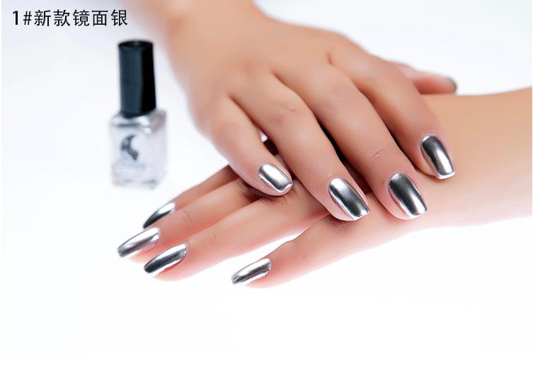 New Professional No Logo Fashion Metallic Gel Nail Polish - Buy Nail ...