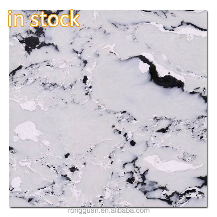 new design marble look quartz stone supplier for countertop