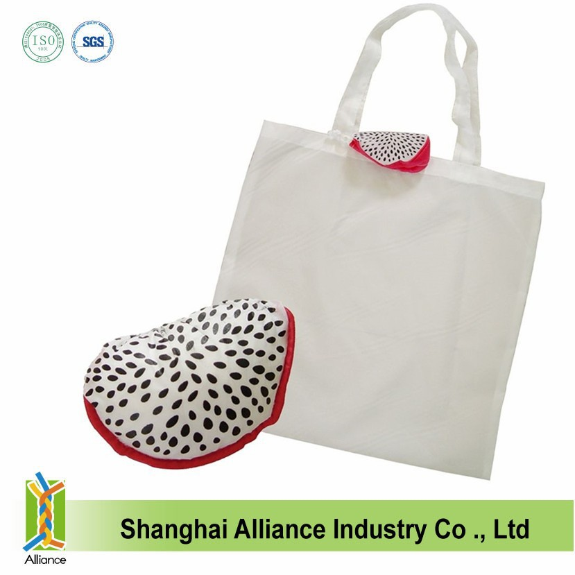 Dragon fruit design shopping bag for Valentine Day christmas gift for girl shop