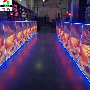 Outdoor hanging display 1920 x 1080 full hd video P4.81 led moving sign
