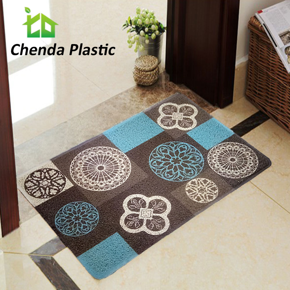 Chenda Plastic Factory cheap customized printing coil pvc door mat