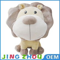 plush stuffed canada lion toys soft cartoon big lion toys