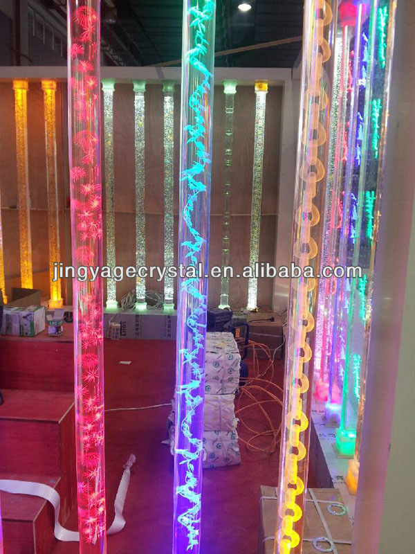 Lighted Glass Pillars For Home Decorative   Buy Lighted Glass Pillars For Home  Decorative,Glass Pillar For Interior Decoration,Glass Pillars With Light ...