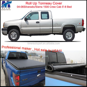 top quality Waterproof/Anti-theft soft kids car tonneau cover for Silverado Sierra 1500