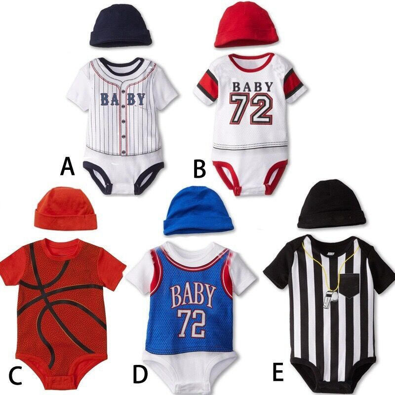 Wholesale baby summer sport clothingnew baby romper