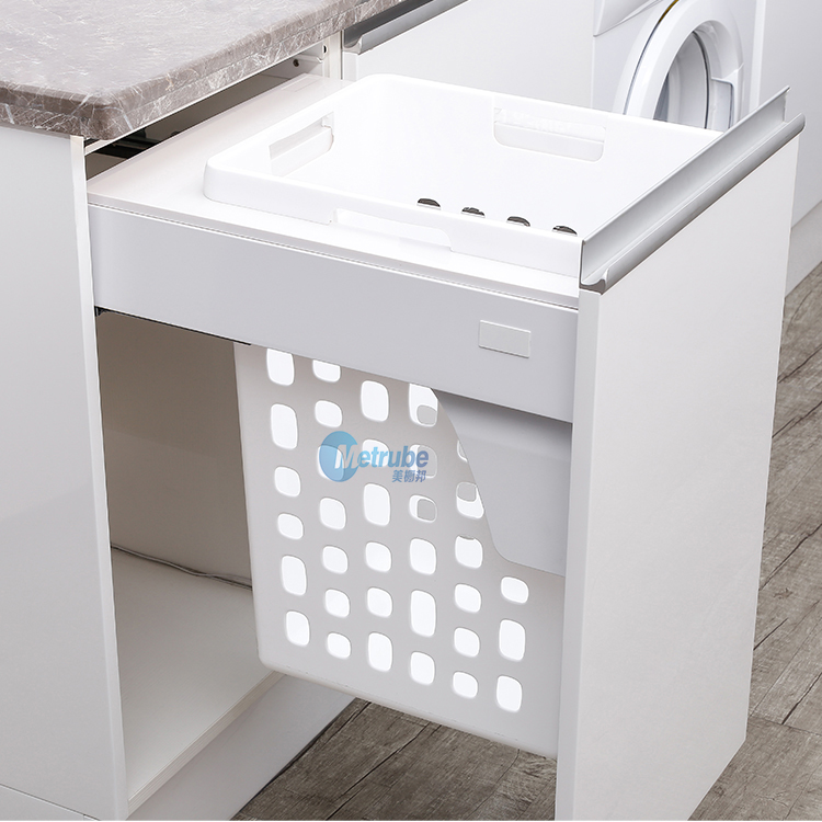 For 400mm Cabinet Laundry Basket Dirty