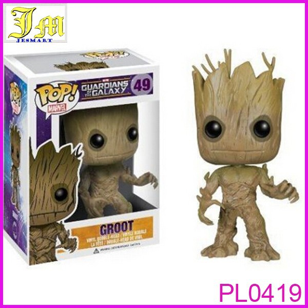 2015 POP! Guardians Of The Galaxy: Groot - Huge-Head Marvel Figure NEW