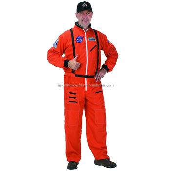 a658649313d0 Mens Spaceman NASA Astronaut Space Suit Adults Halloween Fancy Dress Costume  AGM3163