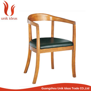 Triumph Antique Hand-made Rope Design wood Dining Chair / Solid wood restaurant chair