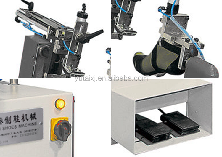 Shoe Equipment 220V 0.8KW Sandal Side Lasting Machine YT-663