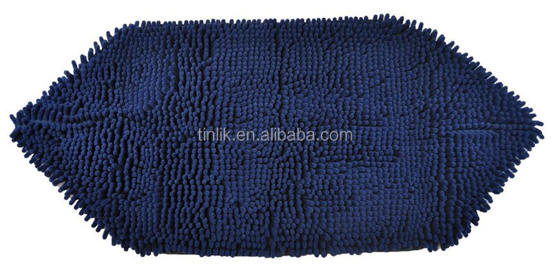 Premium Big Size Ultra Absprbent Quick-Dry Antibacterial 100% Microfiber Chenille Pet Towel for Washing and Drying