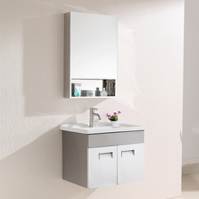 wall hung small size cheap modern mini bathroom cabinet