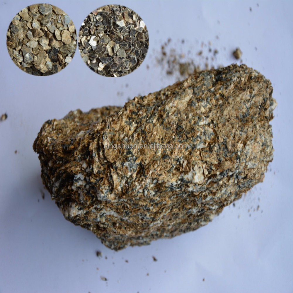 Gold Raw Vermiculite Stone Bulk Price Product On Alibaba