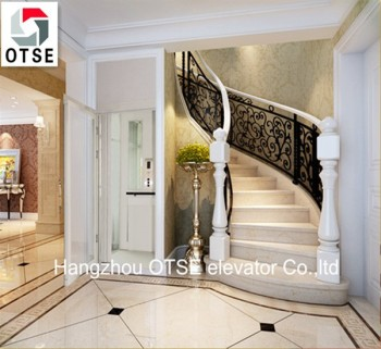 Low cost small home elevator with good quality and nice for Small elevator for home price