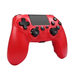 Maliralt Wireless PS4 Controller, MR10 PS4 Gamepad Joystick with Vibration Touch Pad Light Bar headphone Jack for PS4 PS3 PC-Red