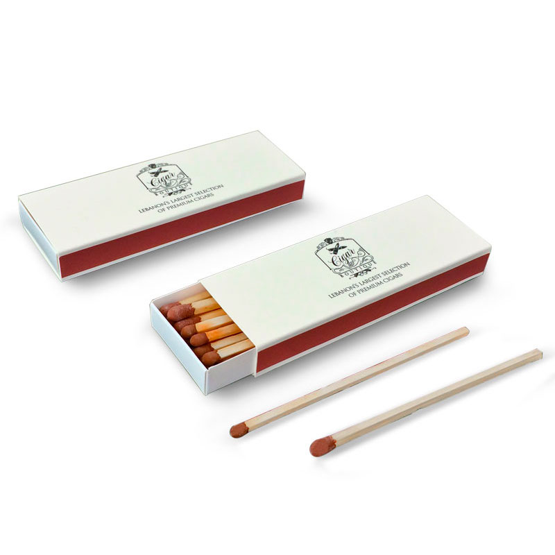 boxed matches for promotion gift cigar matches with 10cm match sticks OEM factory