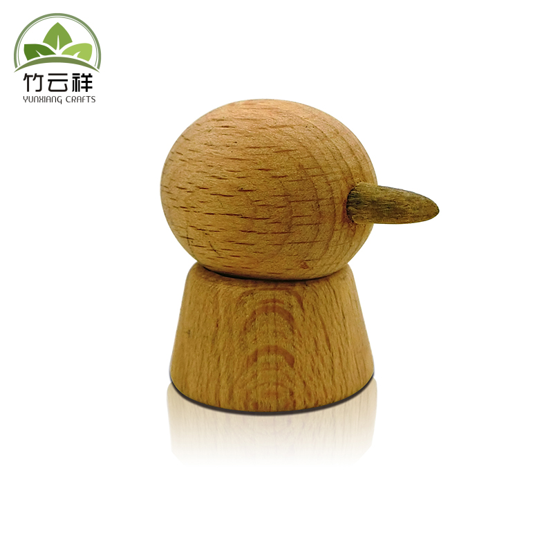 Puppet Small Toy With Natural Wood