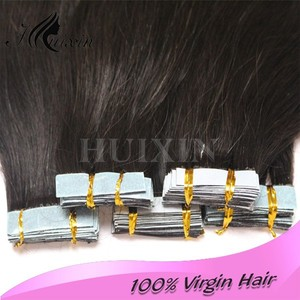 wholesale double side invisible 22inch adhesive us tape hair extensions. cheap tape hair extensions
