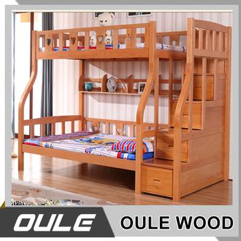 Litera para ni os de madera maciza cama litera moderna dos - Literas precios modelos ...