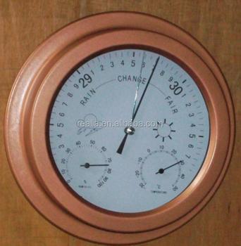 Marine Weather Station Barometer Thermometer Hygrometer