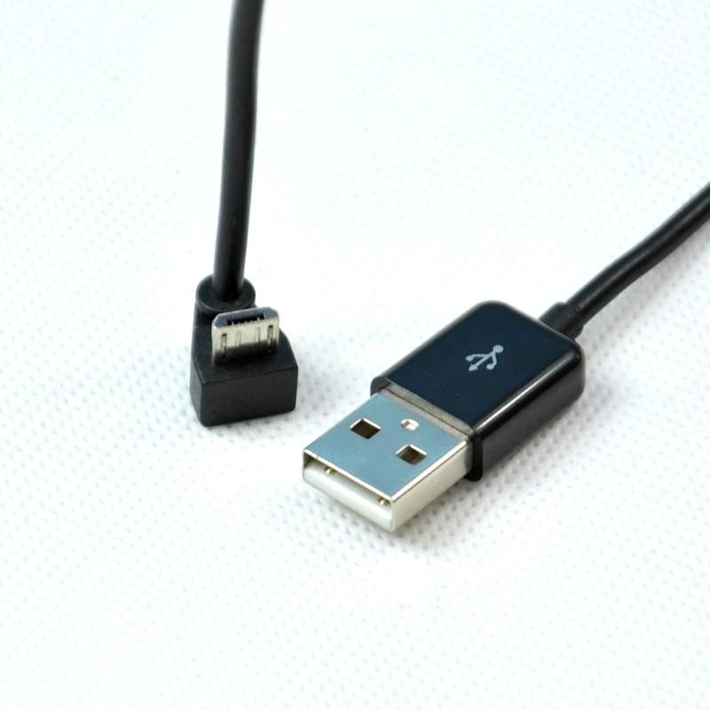Factory Wholesale Right Angle 90 Degree Micro Type C Usb