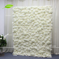 FLW1806003-001New China handmade factory direct wedding party decoration artificial flower wall backdrop