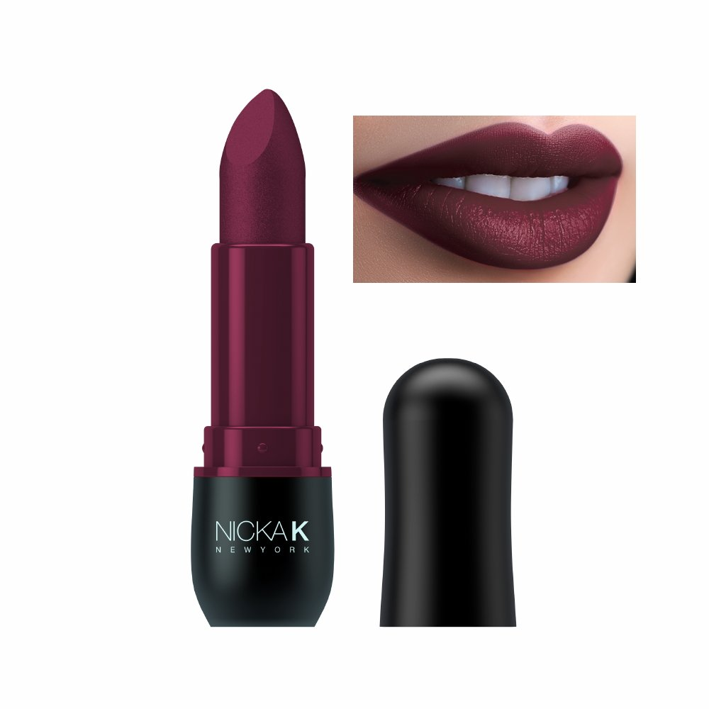 Cheap Vivid Lipstick Find Deals On Line At Alibabacom Maybelline Color Sensational Matte Colour Shocking Coral Shade Get Quotations Nicka K New York Violet Red