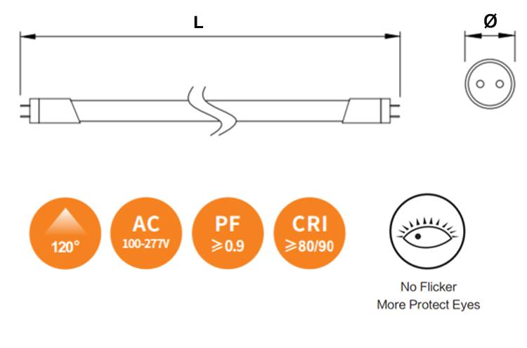 led tube spec