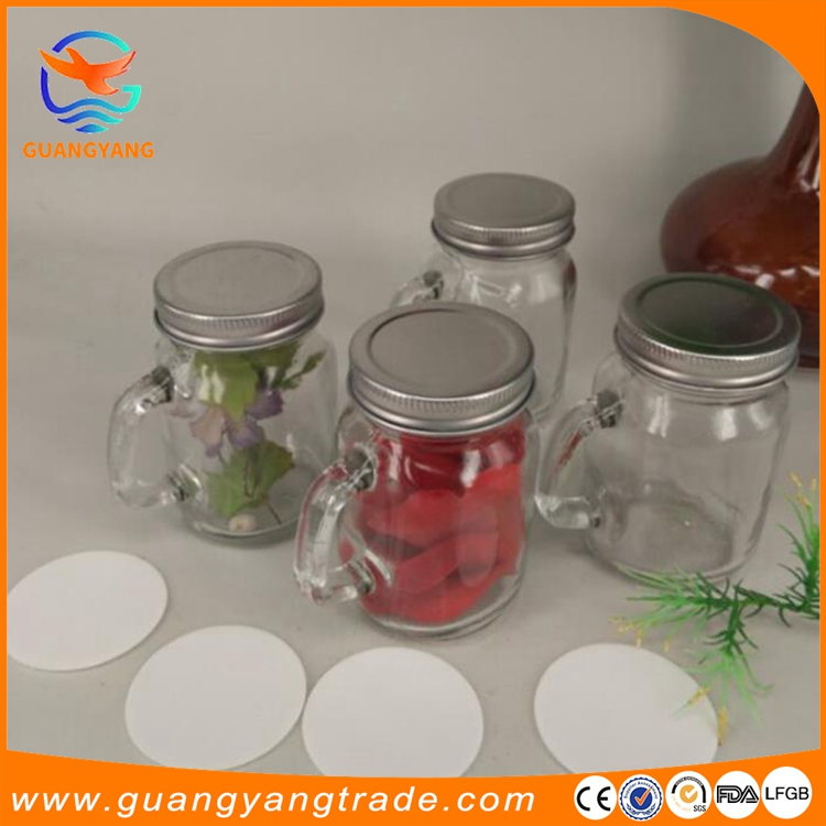 High quality mix finish lids and pump mason jar soap dispenser round shape glass bottle