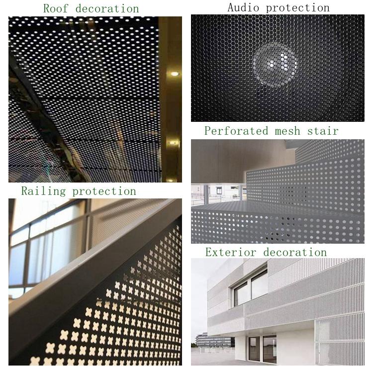 Di alta Qualità a basso prezzo a nido d'ape in alluminio porta scorrevole fogli di schermo di metallo perforata