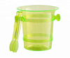 OEM colorful PS Plastic Wine ice bucket chiller