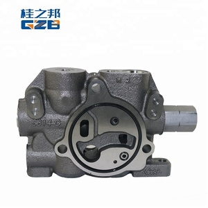 Excavator spare parts 60086268 Oil Inlet Valve Assembly for HUSCO