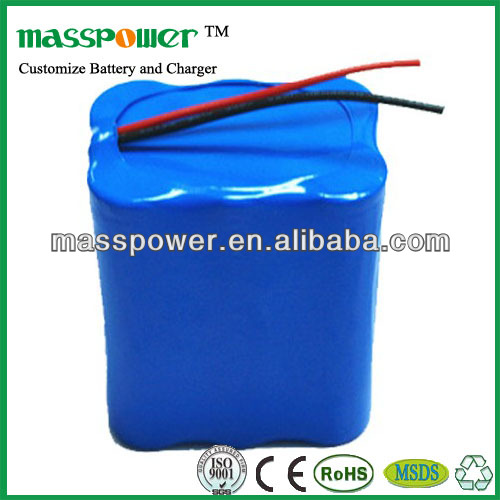 11.1v 5200mAh lir 18650 cylindrical battery