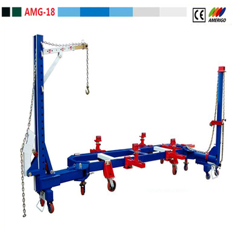 Amerigo Amg-18 Frame Alignment Bench/ Car O Liner Frame Machine ...