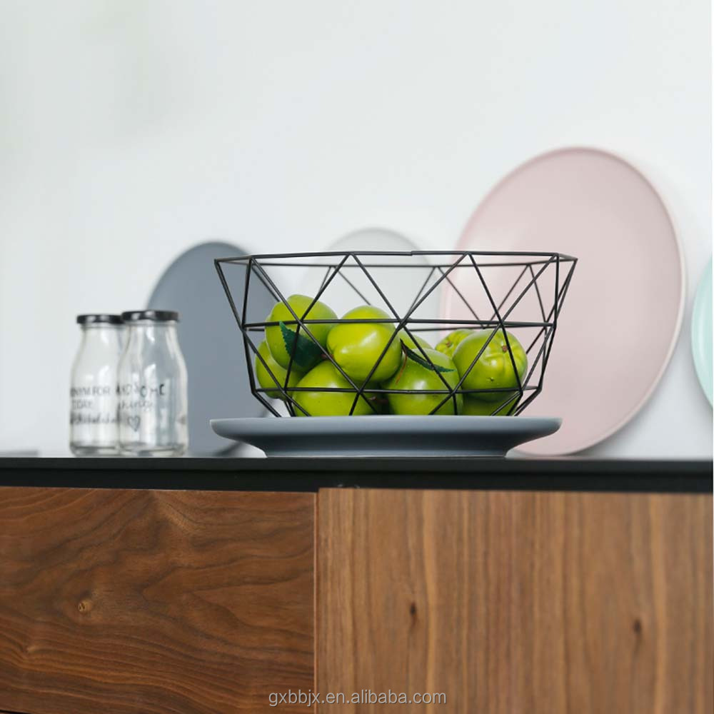 Fruit Vegetable Basket Display Stand