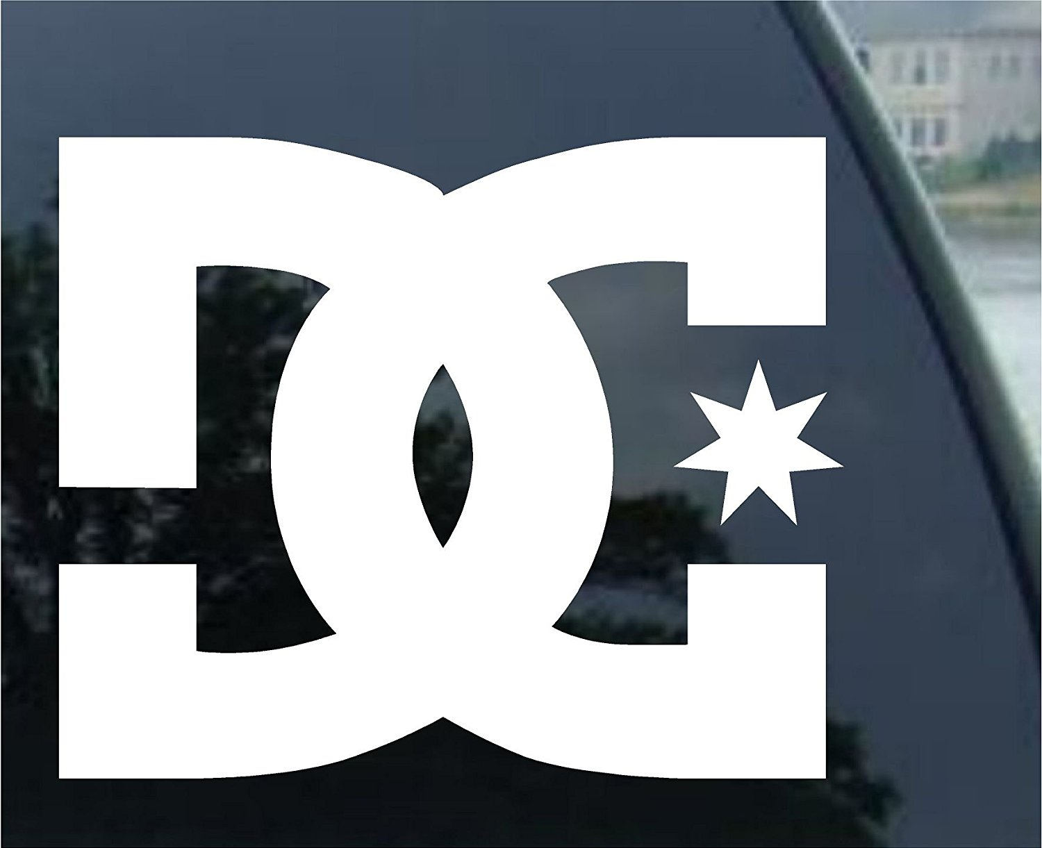 c15c536cd5 Get Quotations · DC SHOES, SKATEBOARDS Vinyl Sticker/Decal (5.5
