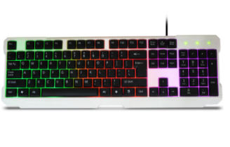 RGB backlit cost-effective and Waterproof keyboard Wired