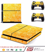 FOR PS4 PlayStation 4 Skin Stickers PVC for Console 2 Pads