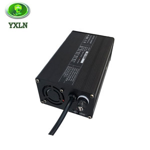 Aluminium case smart 7a 8a 12V dc battery charger for gel batteries