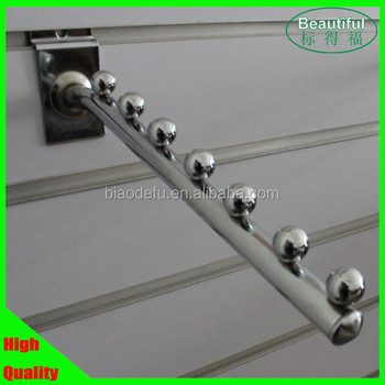 Metal Chrome Plating Slatwall Hanging Hook Factory Price For Clothes Store  - Buy Slatwall Hook,Metal Hook,Clothes Hook Product on Alibaba com