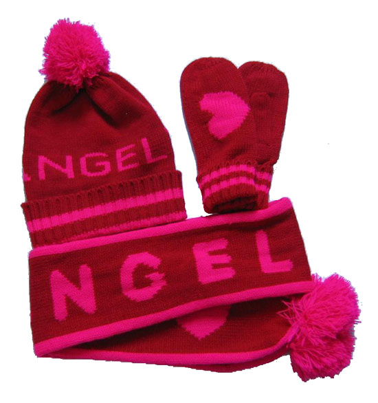 6d045a81fea Fancy Warm Fashion Fleece Toddler Hat Scarf And Gloves Sets - Buy ...