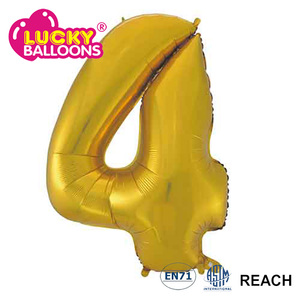 Birthday Party Wedding Room Decorate Aluminum Foil Number Balloon With High Quality