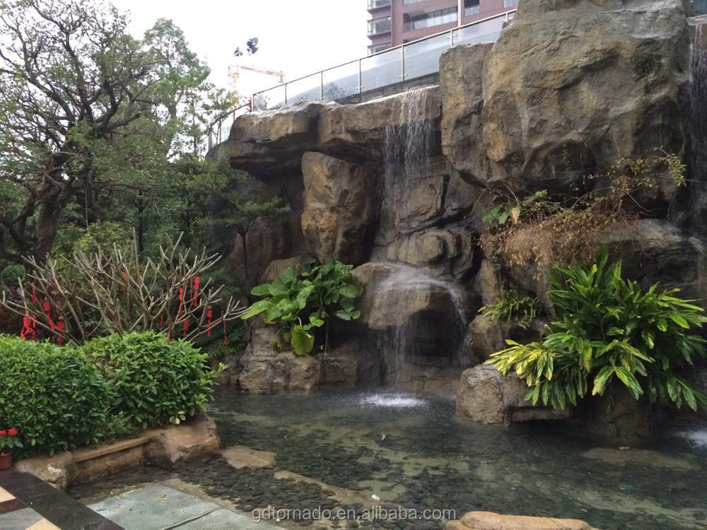 Fontana cascata da giardino cascata aurora bacino for Cascata artificiale da giardino