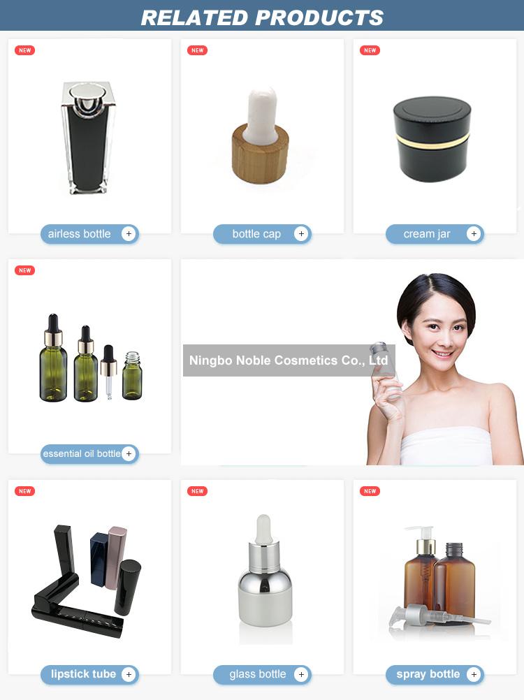 Mini Travel 30ml nachfüllbare Parfüm leere Plastikspray-Wasserflasche