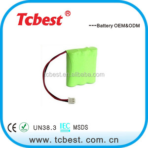 New York popular for rechargeable nimh aa 1300mah 3.6v battery