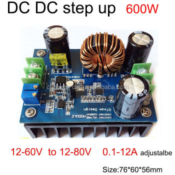 Dc Dc Boost Converter Step Up Power Module 12 60v To 12