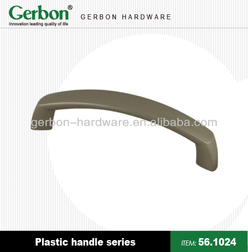 plastic handles D shape for furnitures cabinet