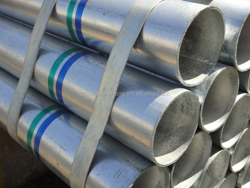 Best selling thin wall galvanized steel inch pipe