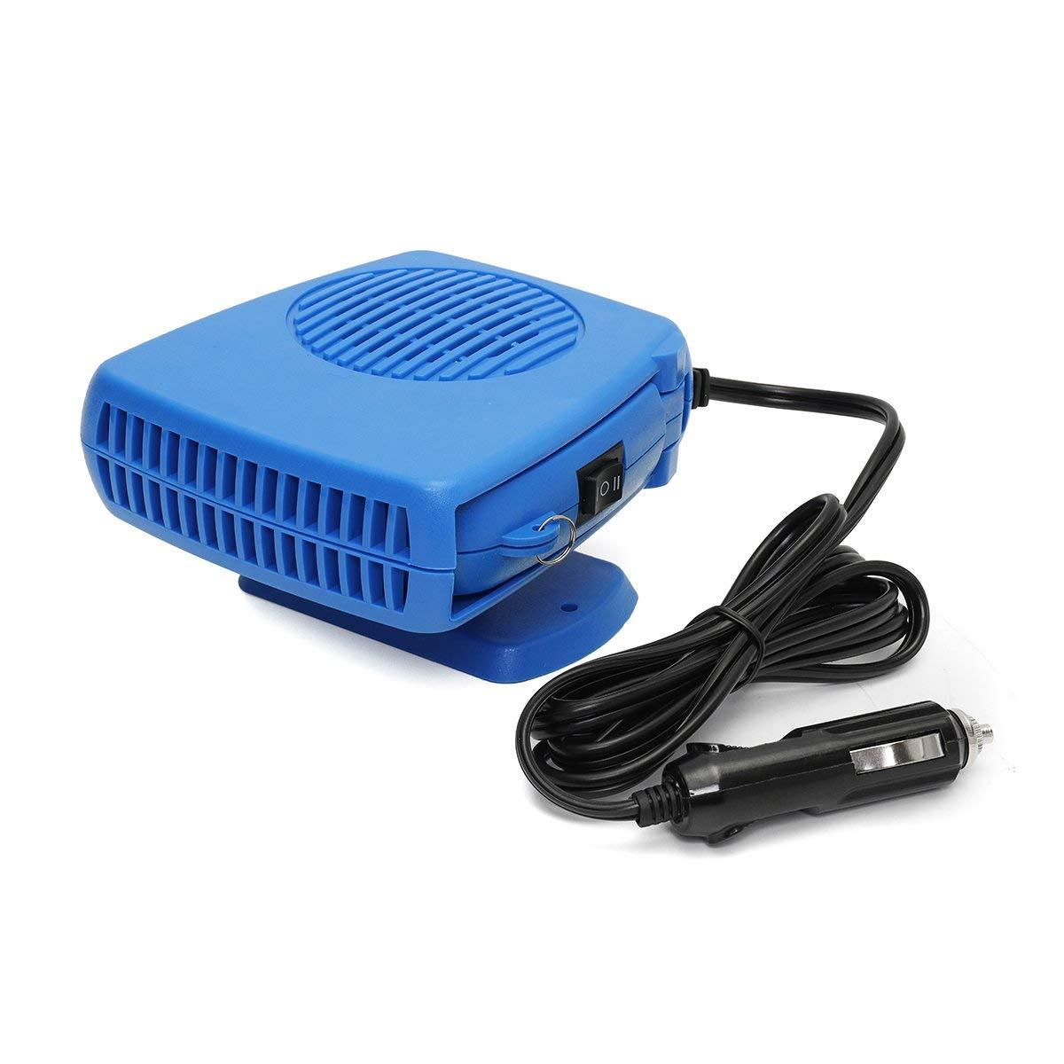 12V 500W Car Heater Cooler Fan Defogger Demister Quickly Heat