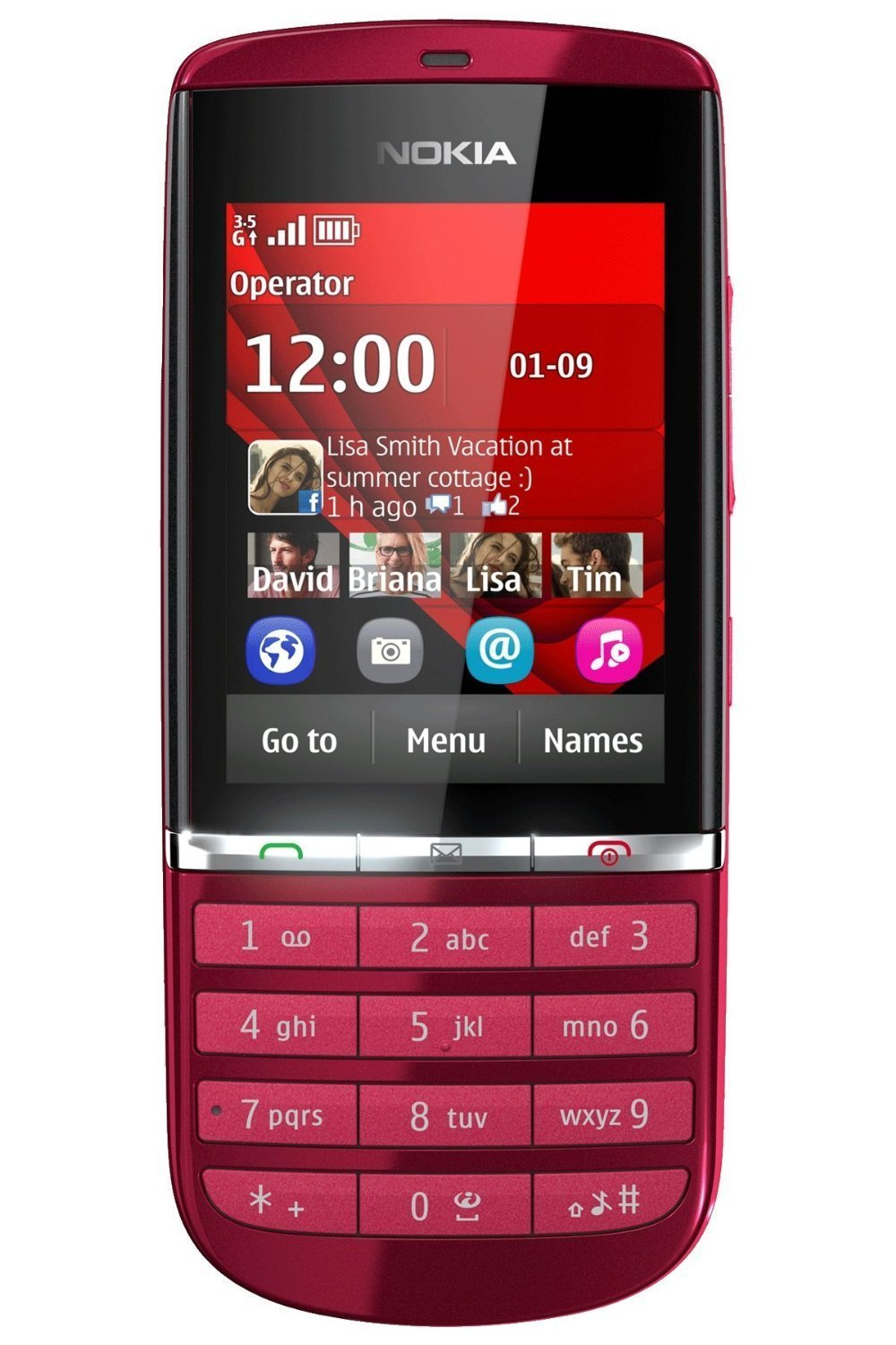 Cheap Latest Asha Phone Find Deals On Line At Nokia 603 2gb Black Get Quotations 300 Red Touchscreen Unlocked Quadband 3g Cell